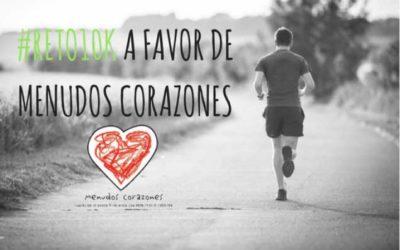 #RETO10K a favor de Menudos Corazones