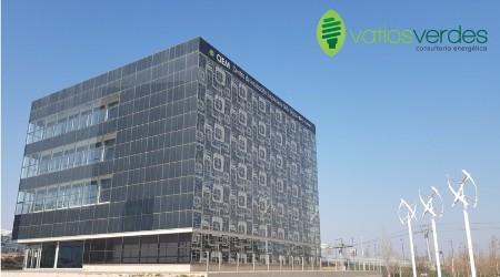 Edificio consumo casi nulo Zaragoza