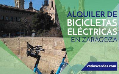 Alquiler de bicicletas eléctricas en Zaragoza