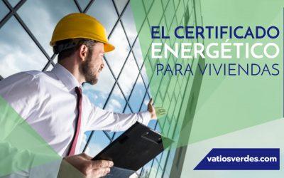 Certificado Energético en vivienda