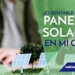¿Es rentable instalar placas solares?