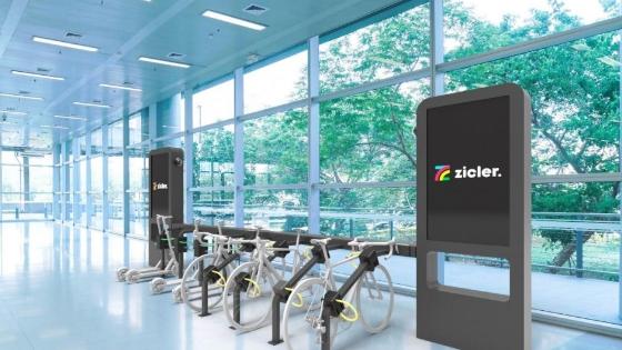 Estacion de recarga de patinetes y bicicletas eléctricas
