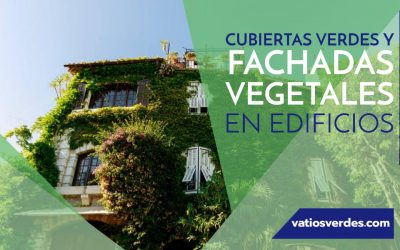 Cubiertas verdes y fachadas vegetales