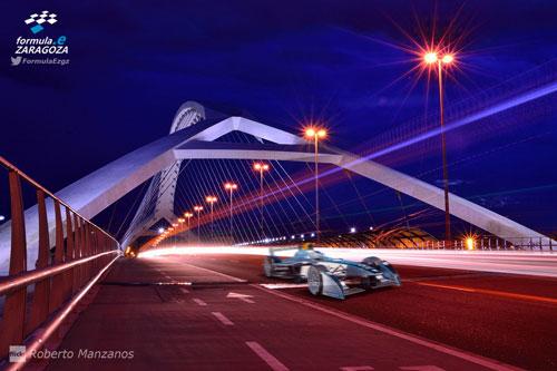 Circuito urbano de Formula-e en Zaragoza