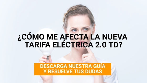 Tipos tarifas eléctricas hogares