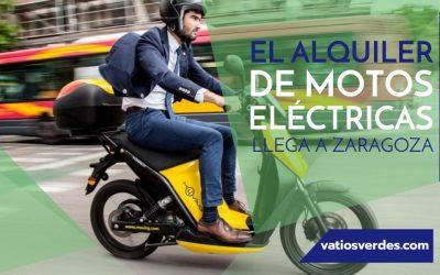 El alquiler de Motos Eléctricas llega a Zaragoza