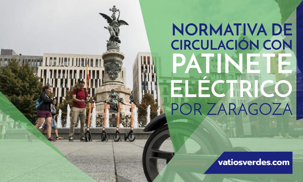 Normativa patinete eléctrico Zaragoza