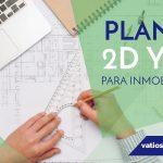 Planos 2D y 3D para inmobiliarias