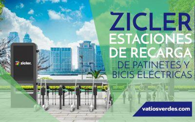 Zicler: estaciones de recarga de patinetes y bicicletas eléctricas