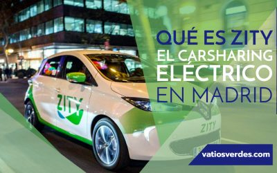 Zity, el carsharing flexible de Madrid