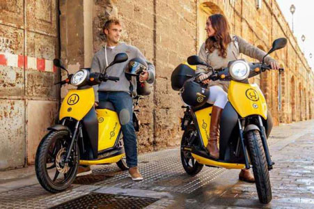 alquiler motos electricas en zaragoza